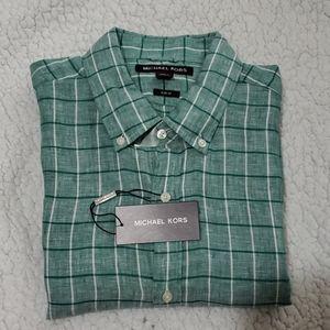 NWT Michael Kors Men's Shirt
